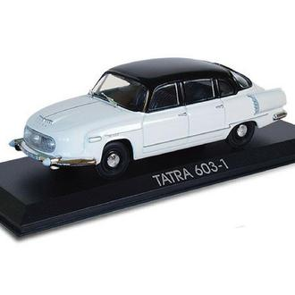 TATRA 603-1 (Legendární automobily minulé éry №1 )