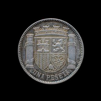1 Песета 1933,(25) Испания