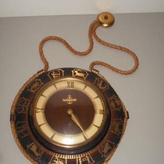 """Годинник механічний настінний знаки зодіака """"Resoanker""""."""