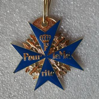 орден За заслуги  «Pour Le Merite» «Синий Макс» пруссия