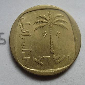 10 агорот, Израиль (ФИНИКОВАЯ ПАЛЬМА).