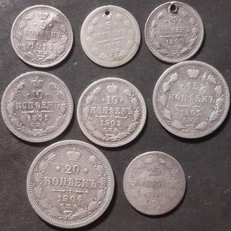 Монеты Николайя II