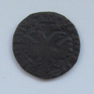 деньга 1705г Петр 1