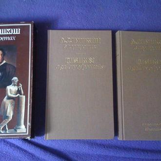 Двухтомный альбом Пушкин в портретах