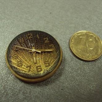 часы наручные циферблат механизм луч позолота № 9