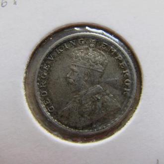 1/4 рупии Индия 1919