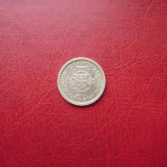 Сан-Томе и Принсипи 5 эскудо 1951 Редкая серебро