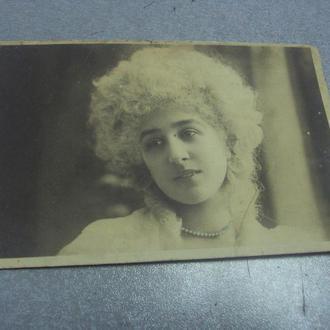 открытка девушка париж №1496