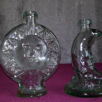Бутылки Солнце и Месяц