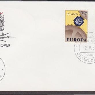 Исландия 1967 ЕВРОПА-СЕПТ ЕВРОПЕЙСКИЙ СОЮЗ ЕВРОПЕЙСКАЯ ИНТЕГРАЦИЯ СООБЩЕСТВО КПД Mi.409-410 EUR 5.5