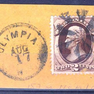 USA / США 1873 г --
