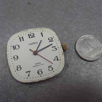 часы наручные циферблат механизм чайка кварц позолота №107