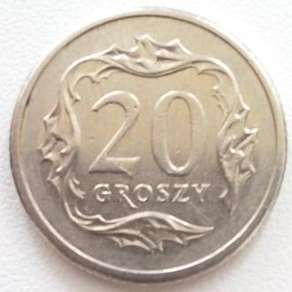 (К1) Польша 20 грошей, 2009