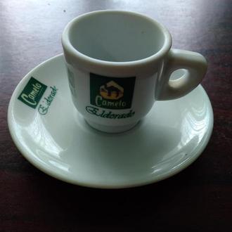 37..CAMELO..Чашка +блюдечко ..колекційні