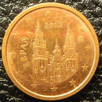 2 євроценти 2012 Іспанія