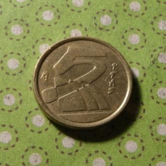 Испания  монета 5 песет 1992 год !