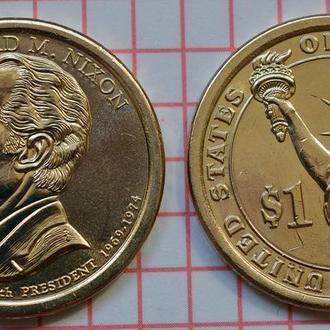 1 доллар, 37 президент США Ричард Никсон, 2016 г
