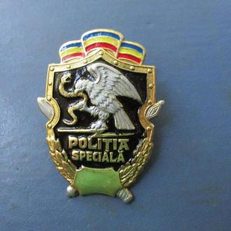 Знак полиции спецназа Молдовы.