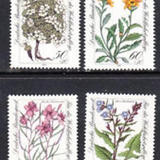 Германия 1982 флора