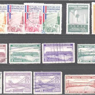 Доминикана Лот № 253 гаш. марки