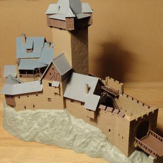 (1549) строение для макета в масштабе H0 (1:87)