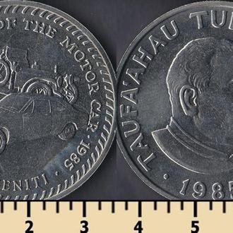 Тонга 50 сенити 1985