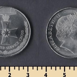 Австралия 20 центов 2017