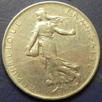 1 франк Франции 1960