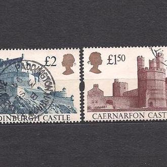 Великобритания, 1992 г., архитектура, замки