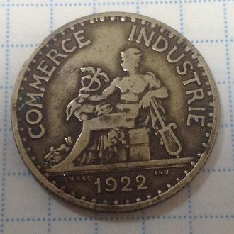 ФРАНЦИЯ, 1 франк 1922