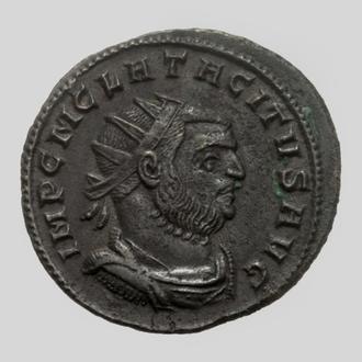 """(А)3512 - Тацит (275—276 г.) Æ Антониниан """"Мир"""" EF"""