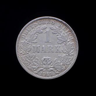 1 Марка 1911 A,(8) Германия СОХРАН!