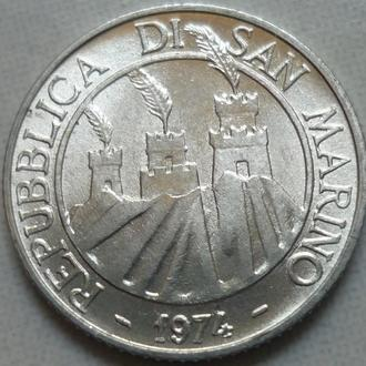 Сан-Марино 2 лиры 1974