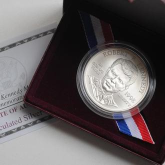 США 1 доллар 1998 г., BU, 'Роберт Кеннеди'
