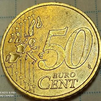 ГЕРМАНИЯ, 50 центов 2002