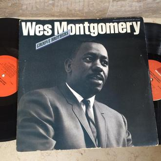 Wes Montgomery ‎– Groove Brothers  (2xLP) ( USA )  JAZZ   LP