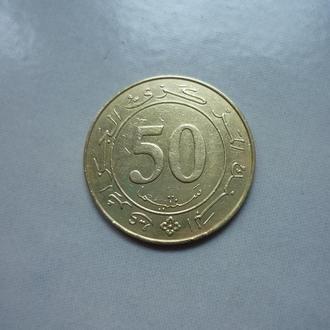 Алжир 50 сантимов 1988 юб.