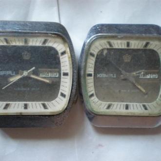 часы Полет Кварц СССР 2 шт редкие 2605