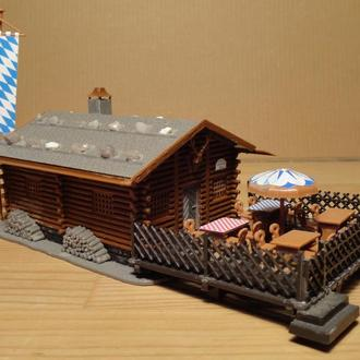 (1573) строение для макета в масштабе H0 (1:87)