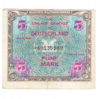 Германия советская оккупация  5 марок 1944