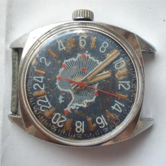 часы Ракета на 24 часа Антарктическая экспедиция 23023