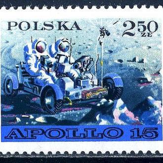 Польша. Аполло-16 (серия)** 1971 г.