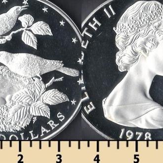 Кука острова 5 долларов 1978