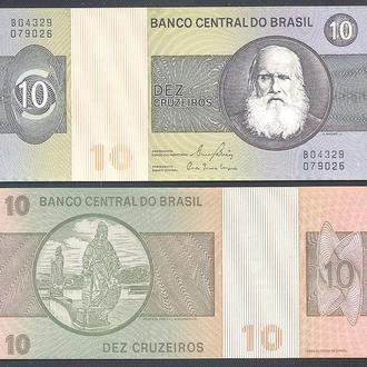 Боны Америка Бразилия 10 крузейро 1979 г.