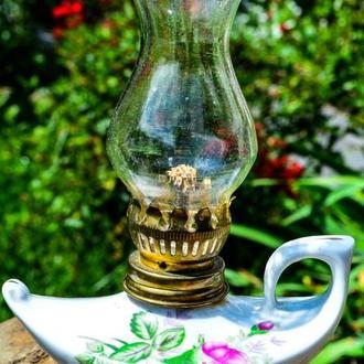 Шикарная керосиновая лампа! Винтаж!