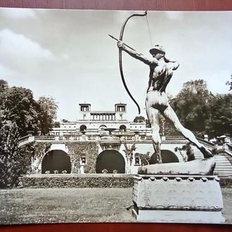 Открытка-Германия (ГДР),Потсдам Сан-Суси , оранжерея
