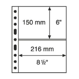 Листки для банкнот Leuchtturm Grande 2C