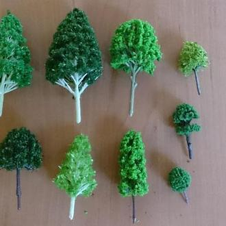 набор деревьев фаллер