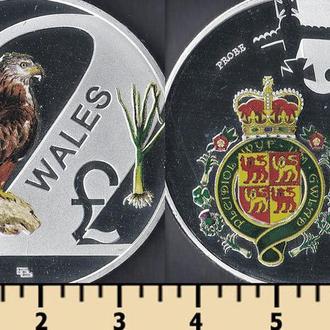 Уэльс 2 фунта 2016
