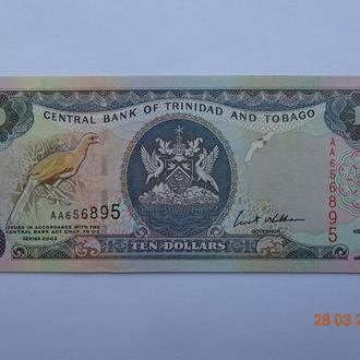 Тринидад и Тобаго 10 долларов 2002 UNC pick43b